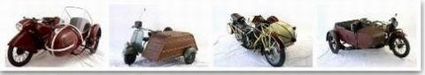 Sidecars dal Museo di Cingoli