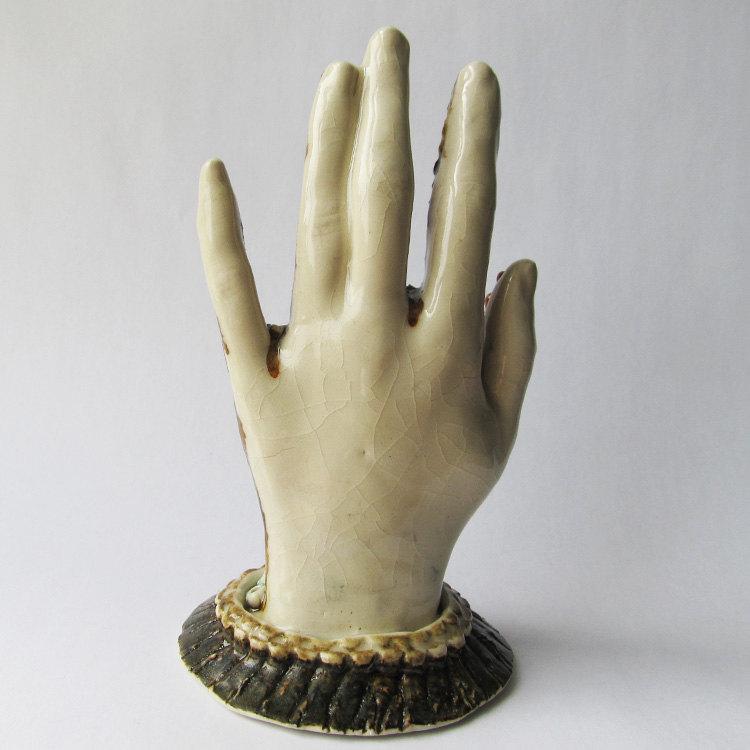 Coral Hand de wildcardpottery