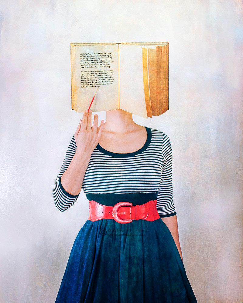 A Story in Progress -- Limited Edition Print by Sophia A Zhou de SophiaAdalaine