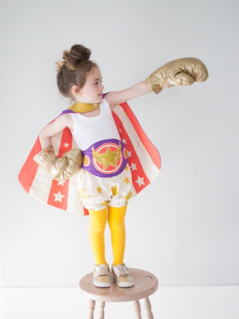 Champion Belt, Boxing Champion Belt, Child Costume, Retro Costume, Child Gift de lovelane