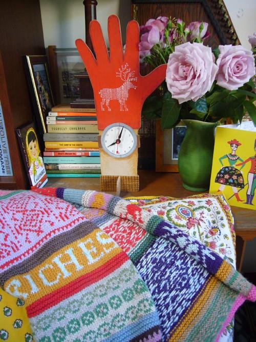 Knitting PATTERN - Confetti Rags to Riches Scarf - Knitting PATTERN de Sandra Eterovic