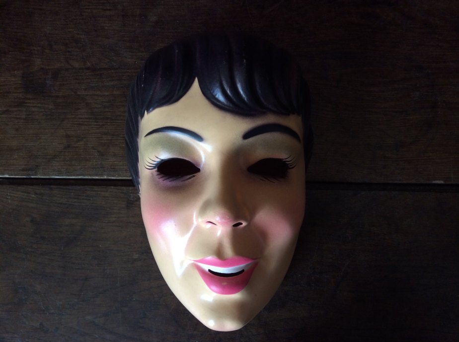 Vintage French movie film musical famous stars starlets fancy dress mask circa 1950/60's / English Shop de EnglishShop