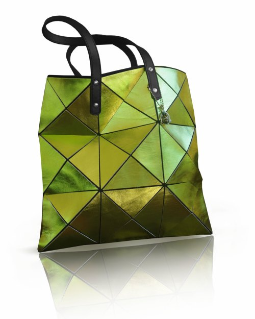 Womens leather Tote, green leather Bag, Leather tote, Leather Bag, Women Tote Bag, Metallic Leather Bag, lime green bag, women leather bag de PurJusShop