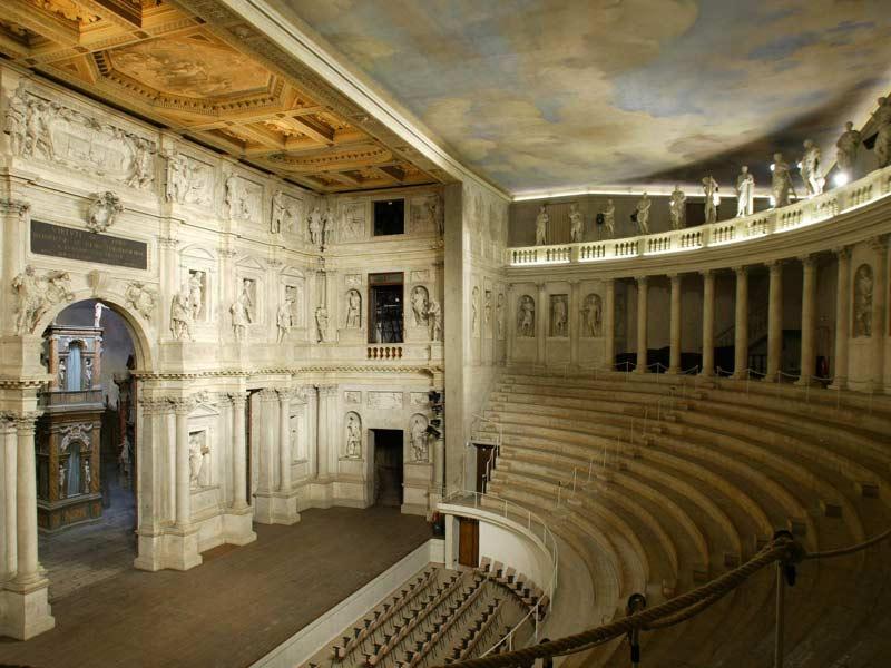 El Teatro Olímpico de Vicenza