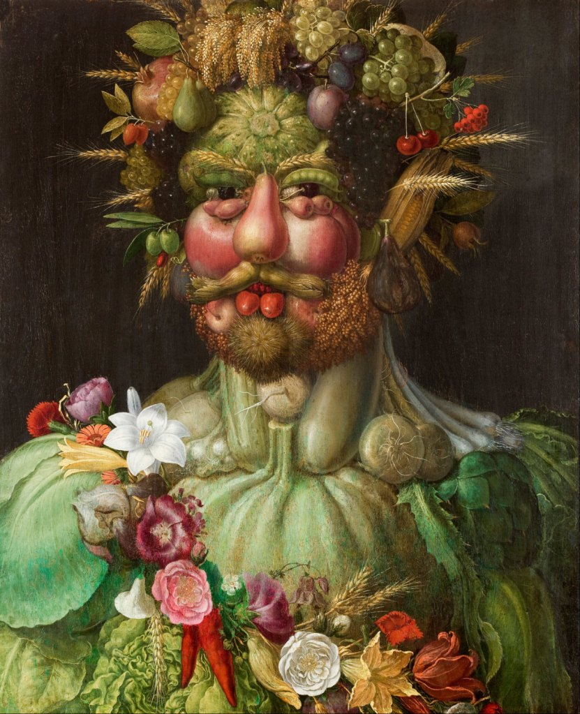 Vertumnus by Guiseppe Arcimboldo, in various sizes, Giclee Print on Canvas de CanvasMuseum