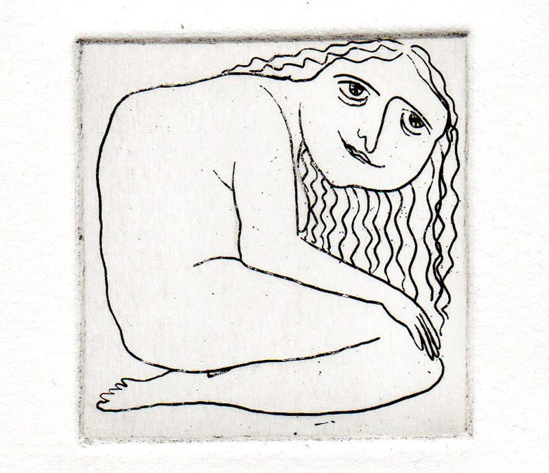 Etching, 'The Giantess' de EleanorPercival