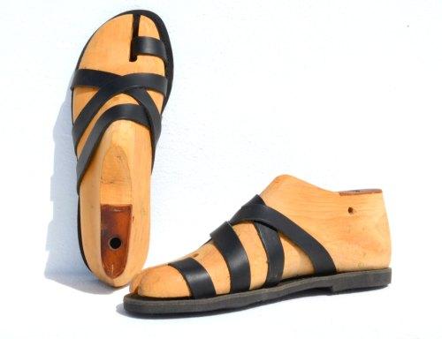 Greek handmade Roman leather sandals for men - NEW de AnaniasSandals