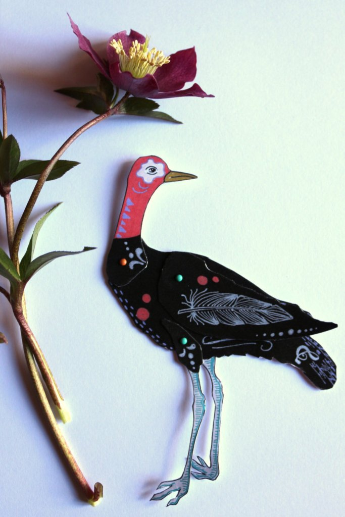Paper doll oiseau by AtanMouala